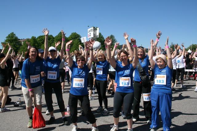 Naisten Kymppi Helsingissä toukokuussa 2009