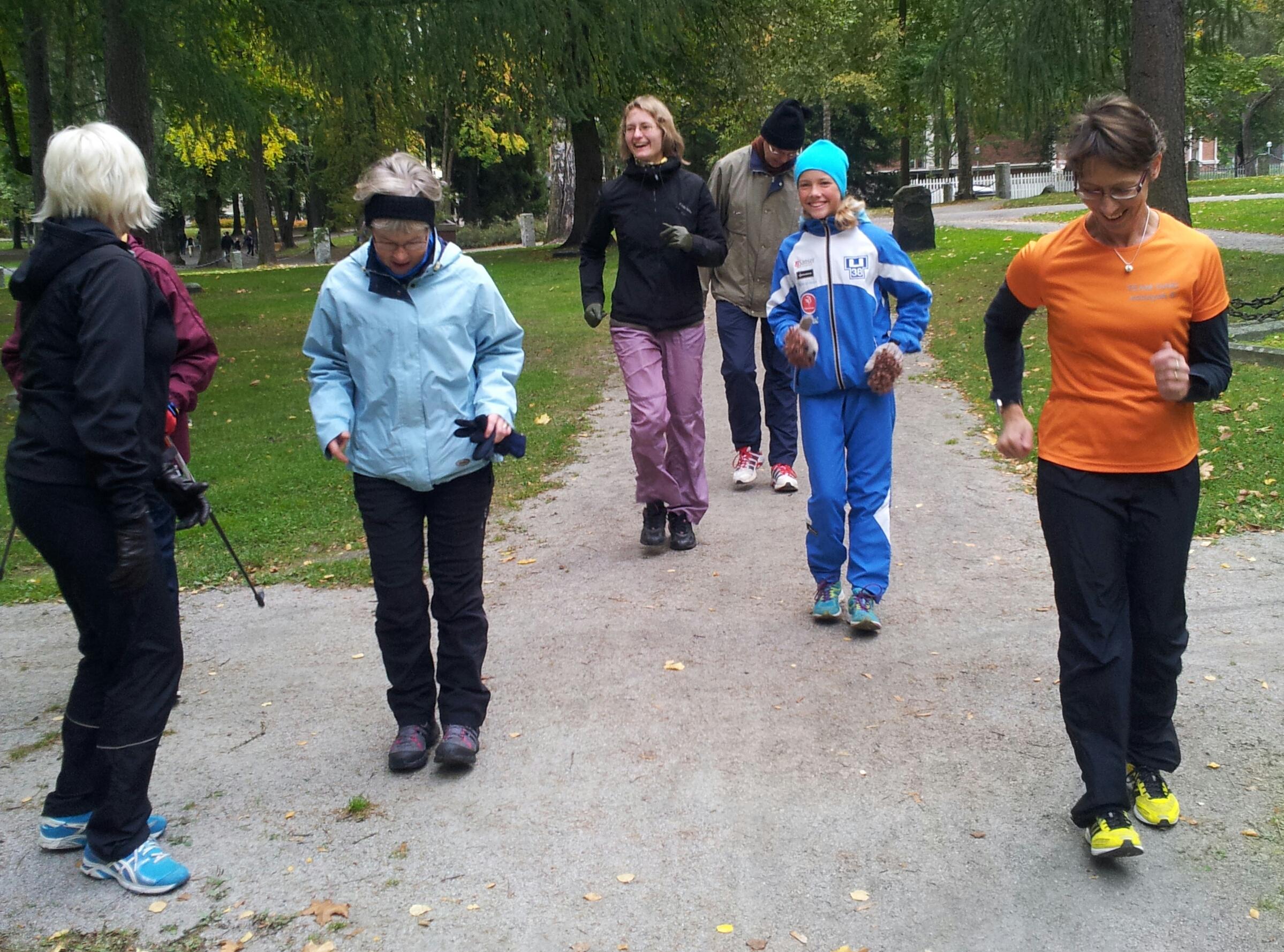 Tampereen kävelytapahtuma 29.9.2013