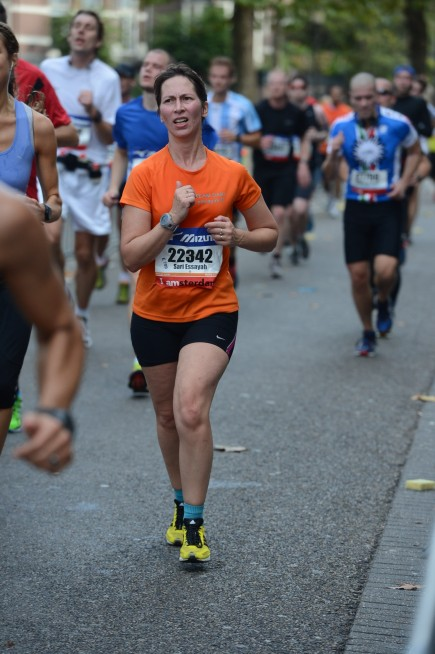 Sari Amsterdamin puolimaratonilla