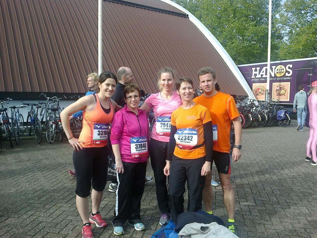 Amsterdamin puolimaratonilla 20.10.2013